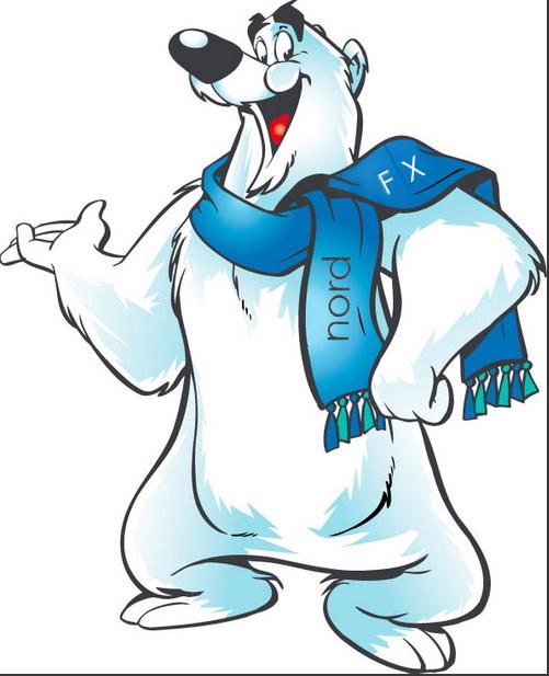 大连老虎滩海洋公园北极熊吉祥物