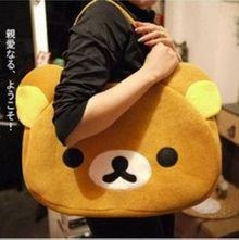SAN-X轻松熊 轻松小熊旅行包/拎包/手提包/挎包