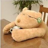 超柔趴趴熊抱枕/憨憨熊