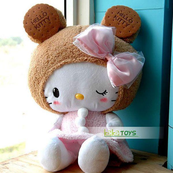 日本限量hello kitty公仔/凯蒂猫公仔娃娃饼干毛绒玩具生日礼物