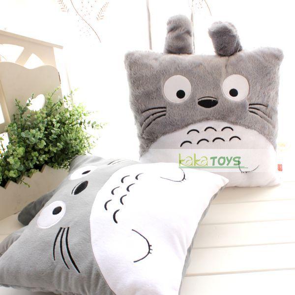 龙猫情侣抱枕靠枕腰靠腰枕 毛绒玩具娃娃公仔