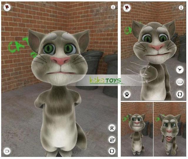 iPhone4s苹果手机游戏汤姆猫 tom猫毛绒玩具公仔玩偶 生日礼物