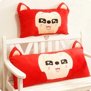 卡通阿狸双人枕单人枕大抱枕靠垫枕头