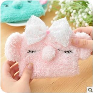 超萌!忧伤马戏团 薄荷绿小象 可爱大象卫生棉包/卫生巾收纳包